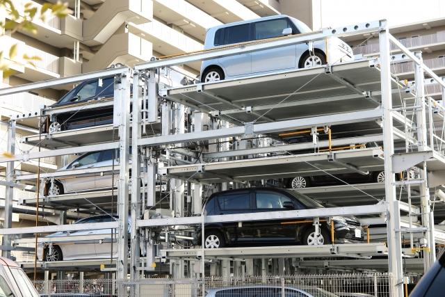 エスクァイア、地上タワー、立体型機械式駐車場